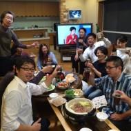 20150929松茸すき焼き1