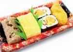 だし巻き玉子と寿司盛合せ