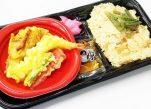 炊き込みご飯と天ぷらセット